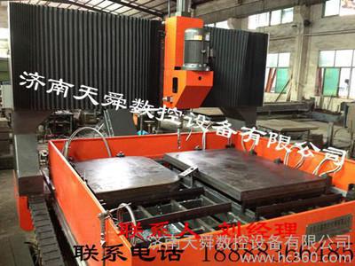 直销龙门移动式数控平面钻床 天舜制造 平板钻床 cnc plc 控制 crt显示