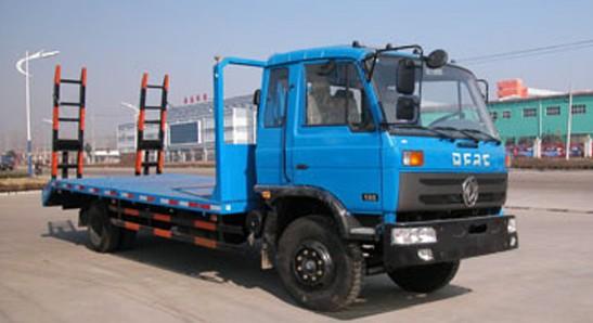 里有卖东风天锦挖机拖车大型挖机平板拖车报价图片厂家详细数据产