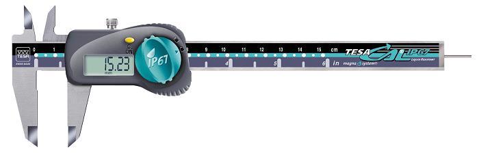 瑞士TESA数显卡尺00530090|TESA卡尺0-150