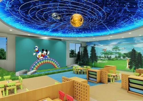 郑州幼儿园装修设计公司,九鼎设计带给孩子们的快乐!