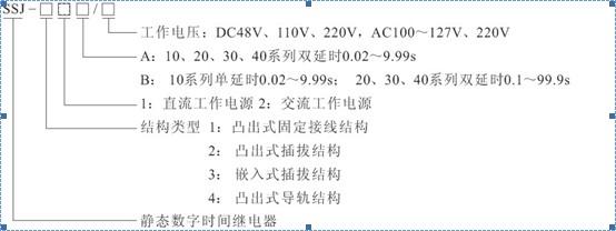 ssj-31/a,ssj-32/b时间继电器,时间继电器接线图