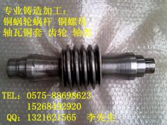 蝸桿蝸輪銅套軸瓦銅螺母