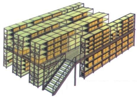 閣樓貨架、專業定制閣樓貨架