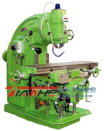 慶陽X5032立式銑床廠家報價 慶陽X5032立式銑床最大回轉角度