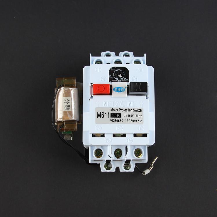 一、用途 本产品执行**标准GB14048.2-94,符合VDE0660、IEC947-4-1、IEC947-5-1等**标准。适用于交流电压660V,直流电压至440V电流为0.1至40A的电路中,作为三相鼠笼型电动机的过载和短路保护以及不频繁全电压起动和停止操作。为扩大应用范围,共有28种附件供用户选用:增强功能如电压保护、分励脱钩、开门断电,适用不同安装方式如封闭安装盒、面板式安装座、卡轨式安装板、钥匙操作式按钮以及各种专接线端头。欢迎矿山、机械、化工、冶金、电力、纺织等行业选用。 二、产品的正常工