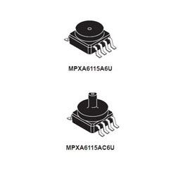 深圳飞思卡尔压力传感器|MPXHZ6115A压力传感器价格参数