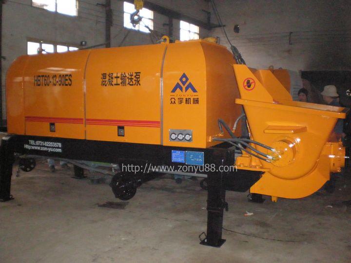 選擇長沙眾宇機械的混凝土輸送泵理由
