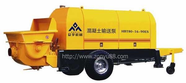 长沙混凝土输送泵首选众宇机械