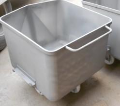 不锈钢桶车