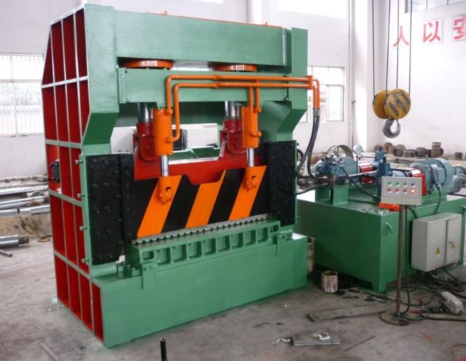 全自动大型重废打包剪切机,重废废钢液压剪,废金属打包液压剪切机生产