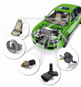 集成相对压力传感器MLX90807
