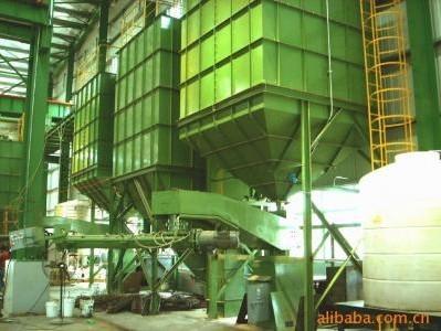 拋丸機廠家供應簡易樹脂砂再生線,樹脂砂設備