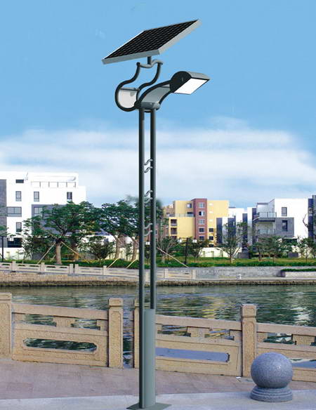 太阳能路灯,太阳能路灯灯杆,太阳能照明,太阳能灯具图片