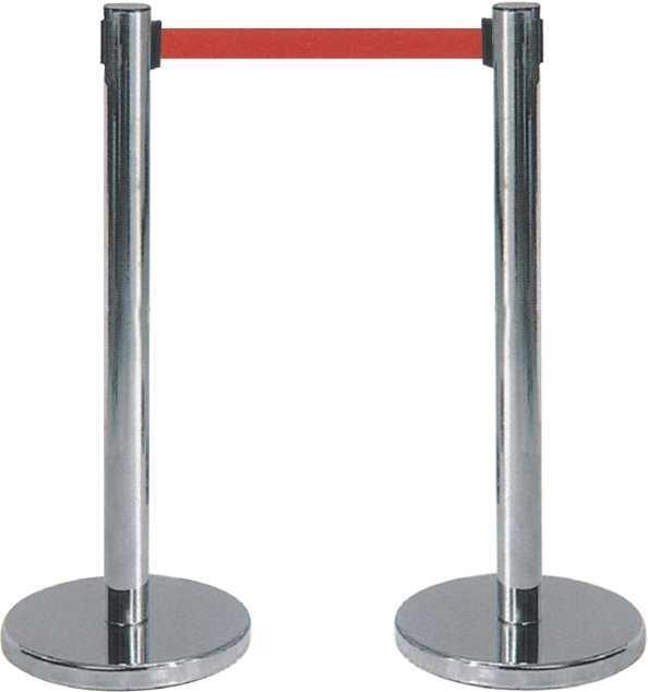 北京银行两米线、隔离拦、不锈钢伸缩拦、不锈钢立柱、警戒杆特价出售
