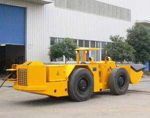 地下电动铲运机 300*235 52k jpg-铲运机 吊车 铲运机图片图片