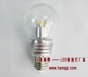 110V\220VLED球泡燈、優質可調光玻璃罩LED球泡燈工廠