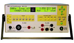 符合DIN54345-1, DINEN1149-1紡織品電阻測試儀