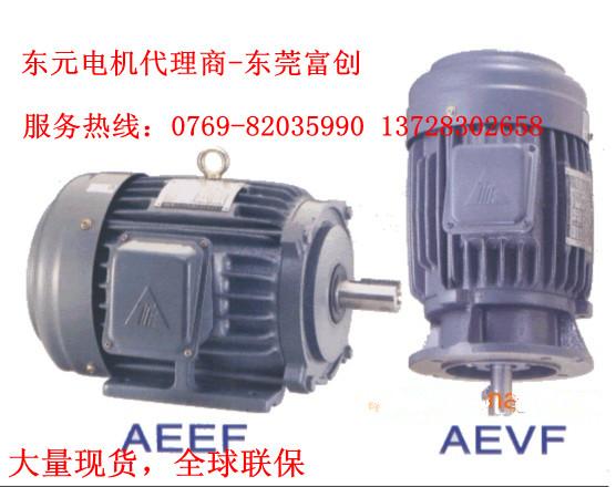 东莞富创批发TECO东元电机0.37KW,4极,立式马达,有代理证