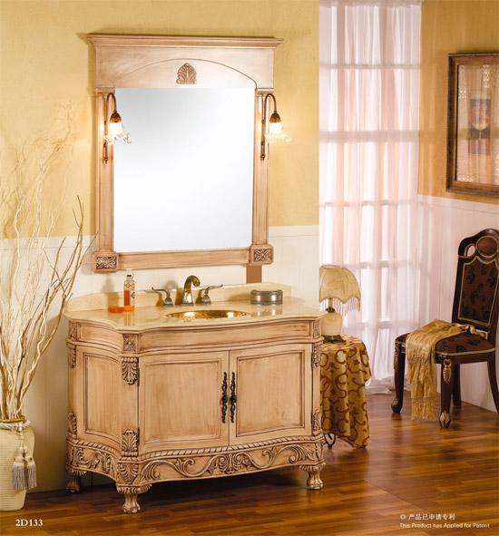 其生产的浴室家俬均采用进口泰国橡木,美国红橡木,巴西花梨木,西班牙
