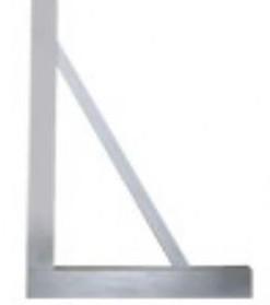 镁铝直角尺,镁铝合金直角尺,镁铝轻型直角尺