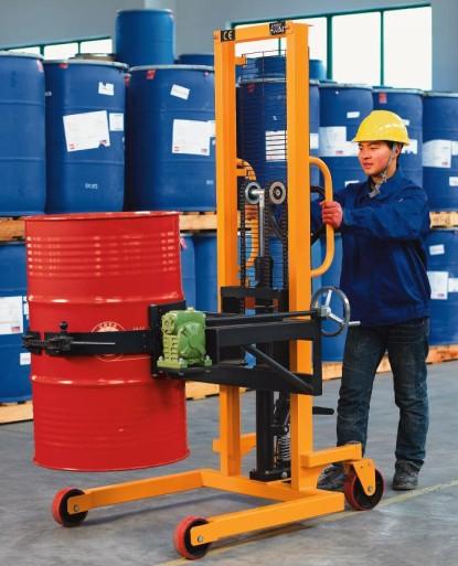 200公斤倒桶车电子秤,100kg油桶搬运车