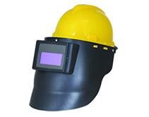 液晶自动变光电焊面罩