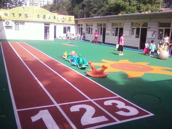 学校 体育场塑胶跑道 幼儿园塑胶地垫