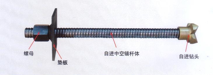 六式芬利尔-R32N自进式锚杆-锚杆直径多大,造孔直径多大?   :应该是组合式中图片