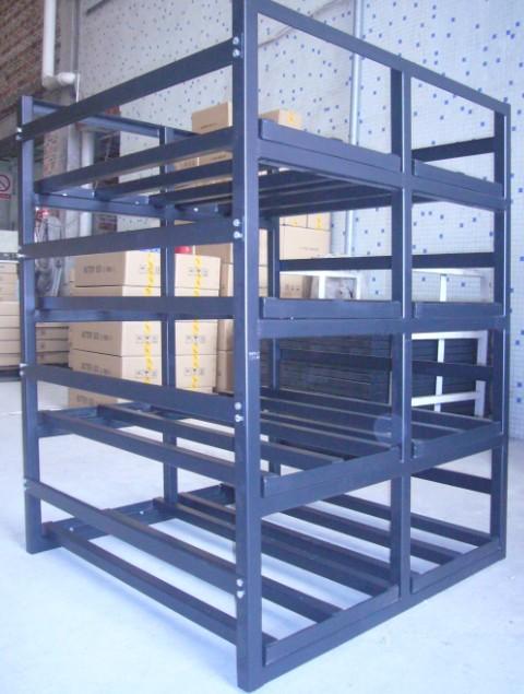 佛山厂家订做电池架 组装式承重架 支撑架 可装32个100AH电池 及更多