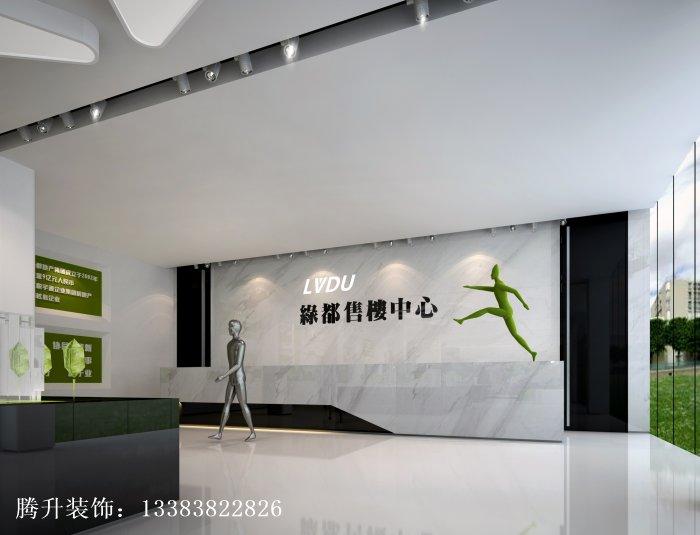 中式售楼处设计_建筑材料栏目_机电之家网