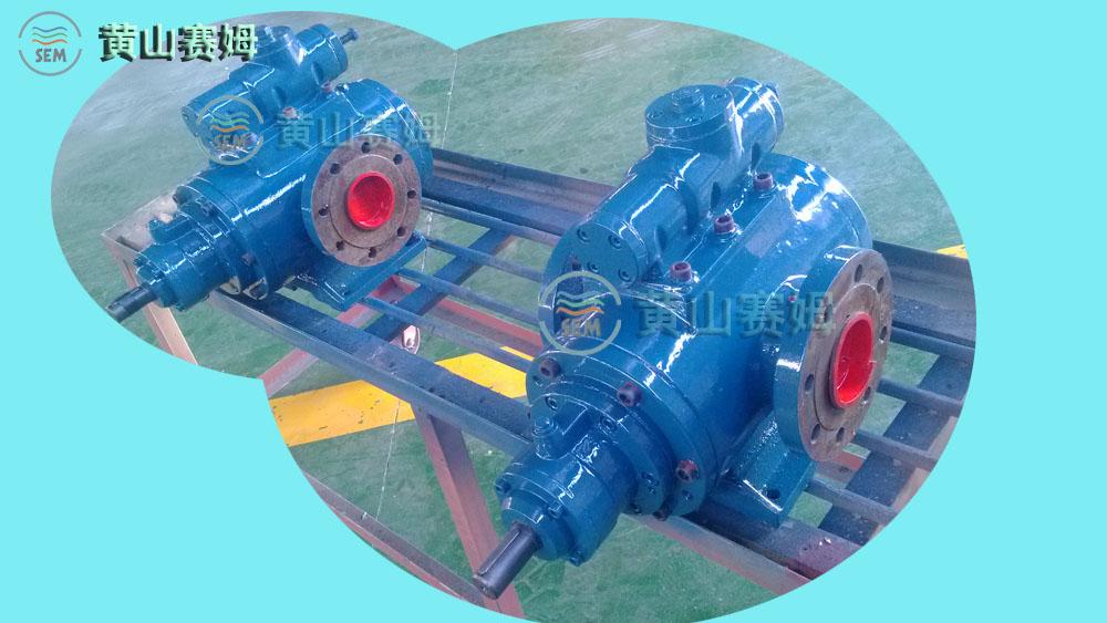 【水泥厂专用SNH120R42U12.1W2三螺杆枪炮泵输送润滑油】