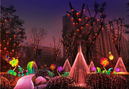 春节灯展,元宵灯会,春节彩灯自贡彩灯花灯设计制作