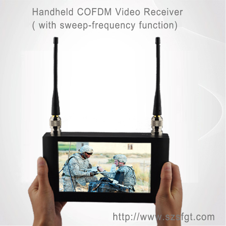 數字無線接收機,便攜式顯頻接收機,遠程視頻接收機