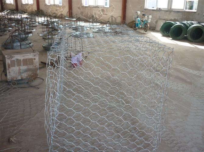 落石防护格宾网笼|防落石格宾网|镀锌格宾网片|防泥石流铅丝网片