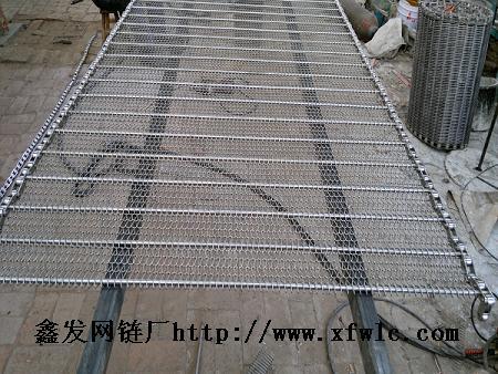 食品帶網,鮮貝、海苔、海帶清洗輸送鏈網-山東鑫發帶網廠