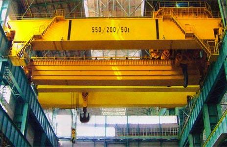 5噸雙梁橋式起重機行車電動葫蘆