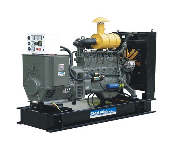 四冲程柴油发电机的工作原理是什么 发电机栏高清图片