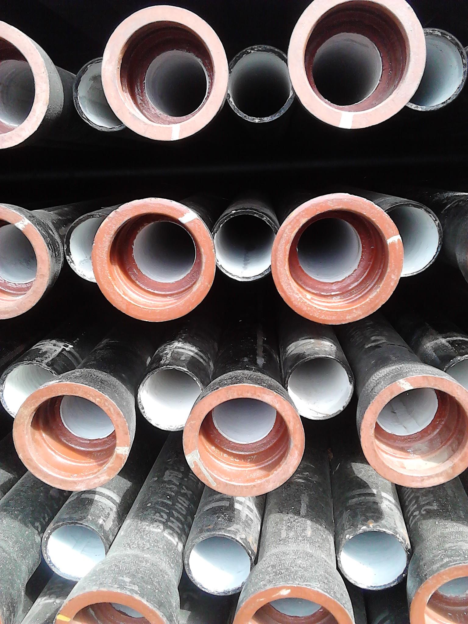 国标济钢k9球墨铸铁管