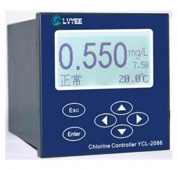 工業在線余氯分析儀 YCL-2086 自來水余氯分析儀 在線余氯計