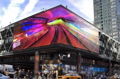 户外led广告屏-曼哈顿商业广场