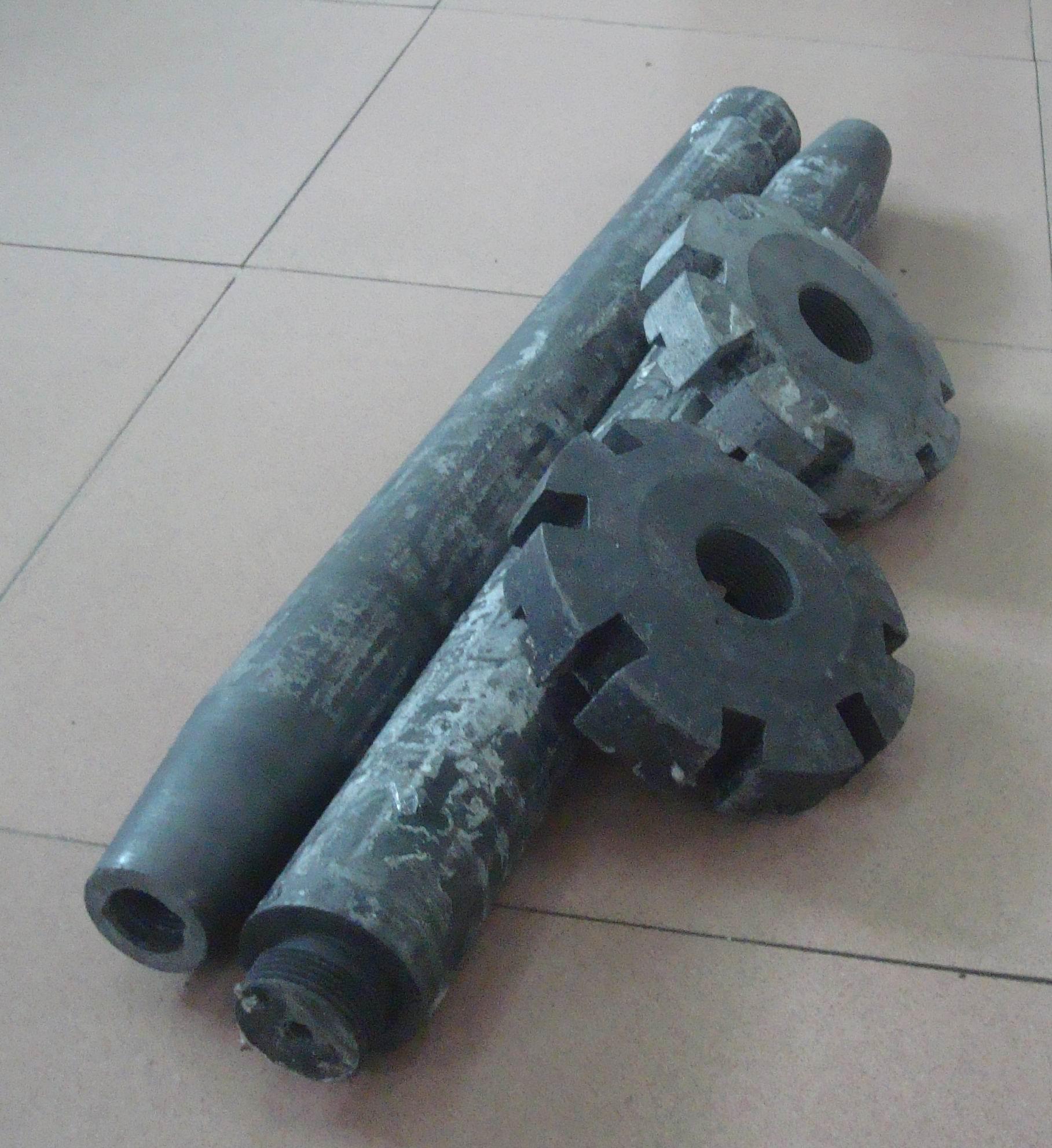 供應批發冶金石墨轉子 抗氧化石墨轉子 溶鋁爐配件石墨轉子
