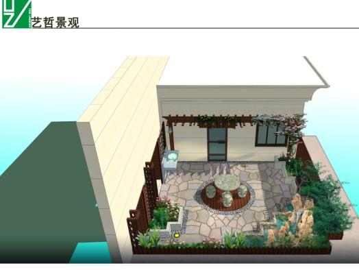 楼顶绿化设计_郑州艺哲园林景观有限公司_产品信息
