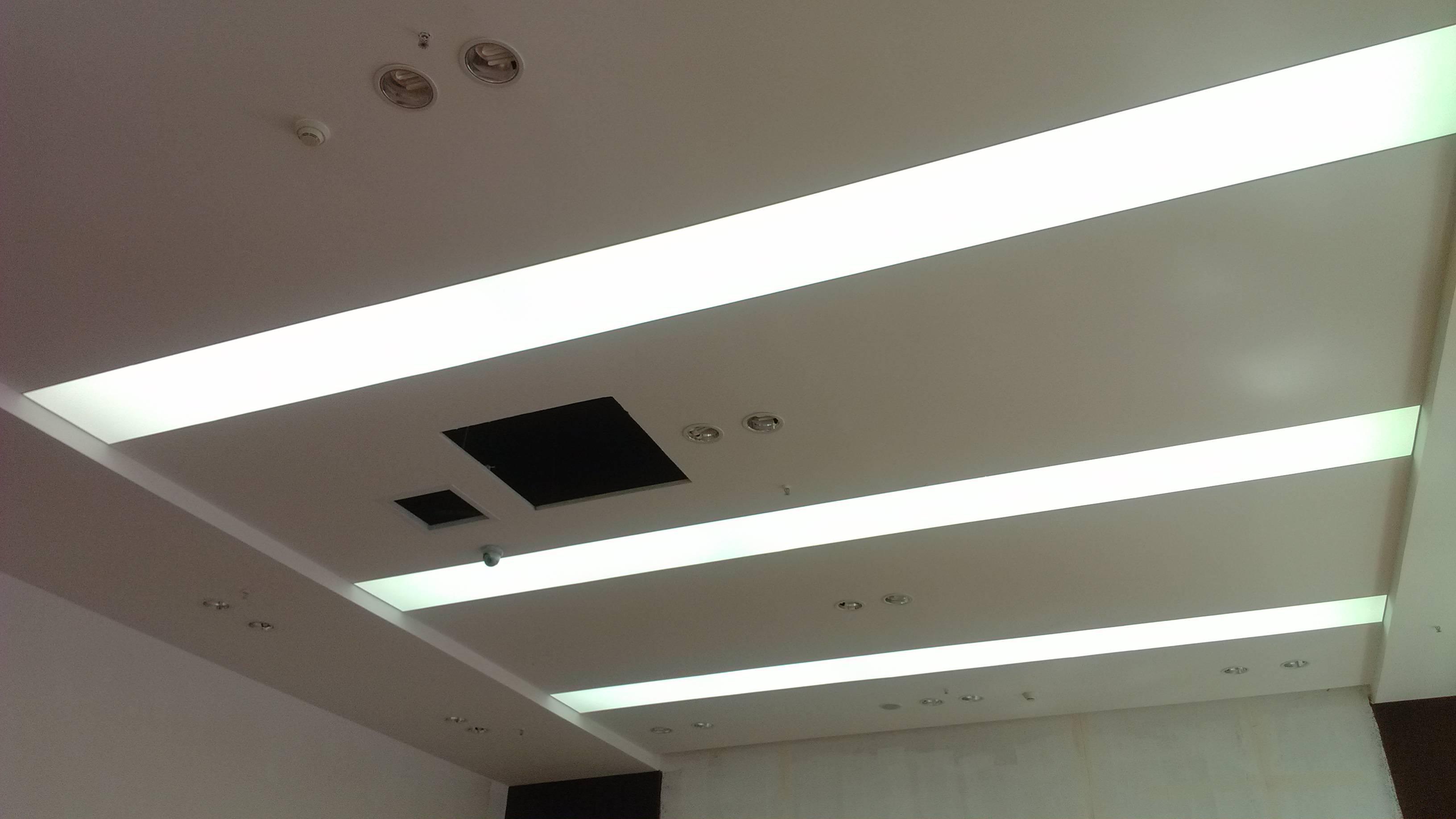 成都大邑软膜天花 透光膜专业安装 灯箱膜价格合理
