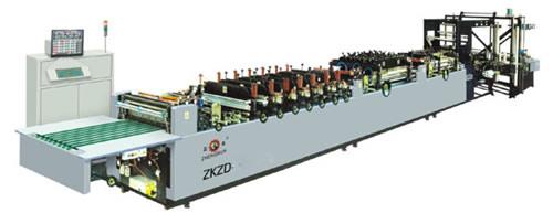ZKZD-500UC高速三边封、自立袋全自动制袋机