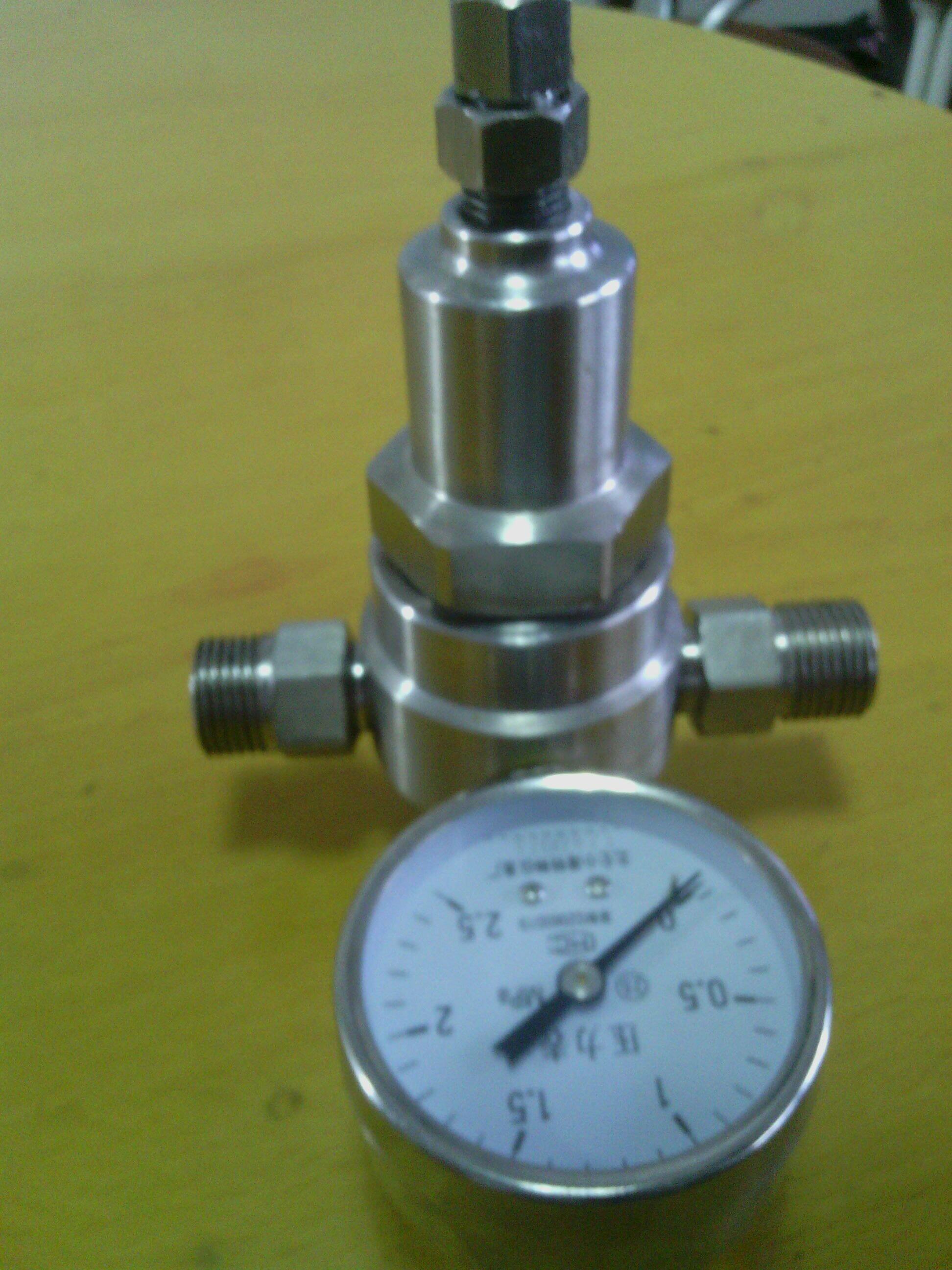 不锈钢高压减压阀 不锈钢水用减压阀 液体减压阀 空气图片