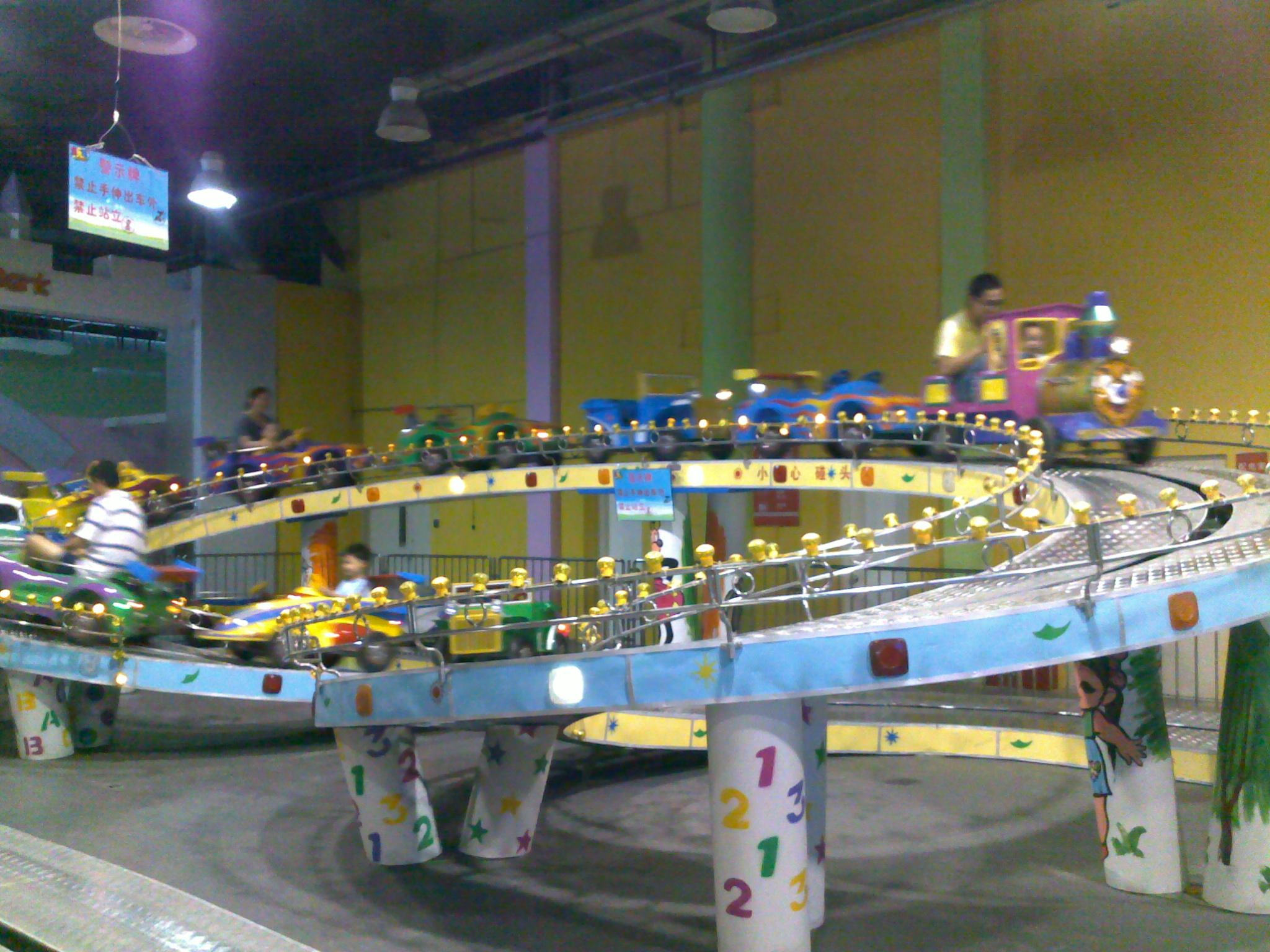 河南专业室内儿童乐园职业体验馆设计