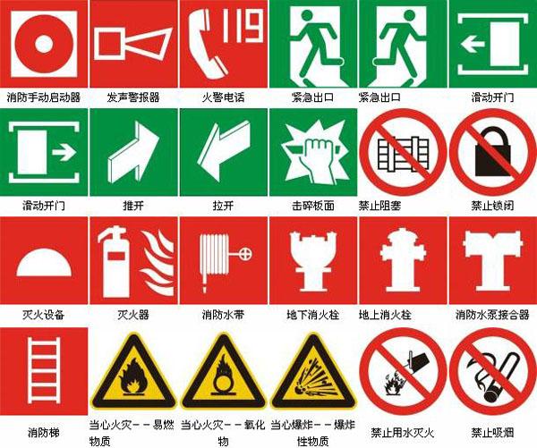 消防安全标志牌|消防标识牌|消防标牌厂家直销