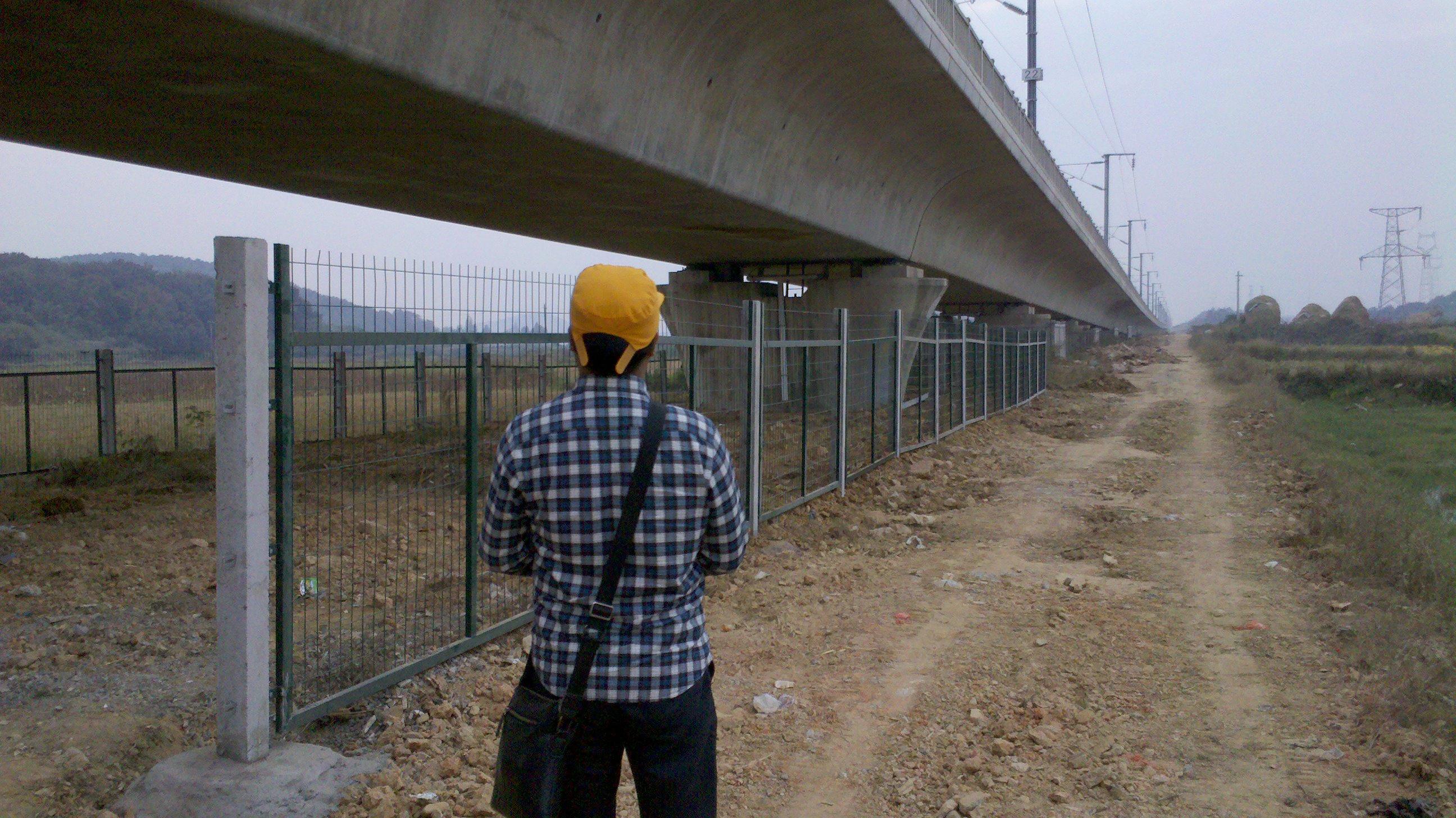 高速铁路桥下防护栅栏通线(2012)8002)