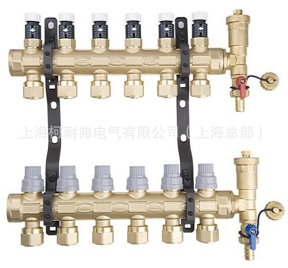 柯耐弗G30系列=地暖专用分水器