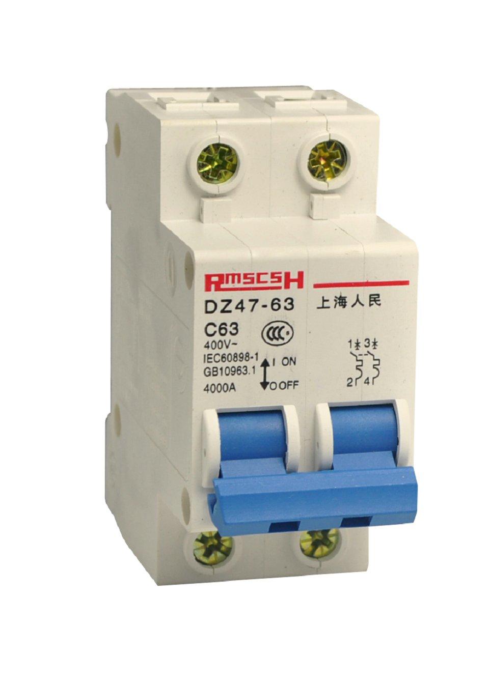 DZ47-63/C6 2P 上海人民电气(香港)有限公司是专业生产配电输电设备的生产企业,主要生产塑壳断路器、小型断路器,空气开关,漏电断路器,框架断路器,交流接触器等系列低压成套元器件。主要产品型号:断路器:RMM1、DZ10、DZ15、DZ20、DZ47、DZ15LD;RMM1L、DZ10LE、DZ15LE、DZ20LE、DZ47LE.